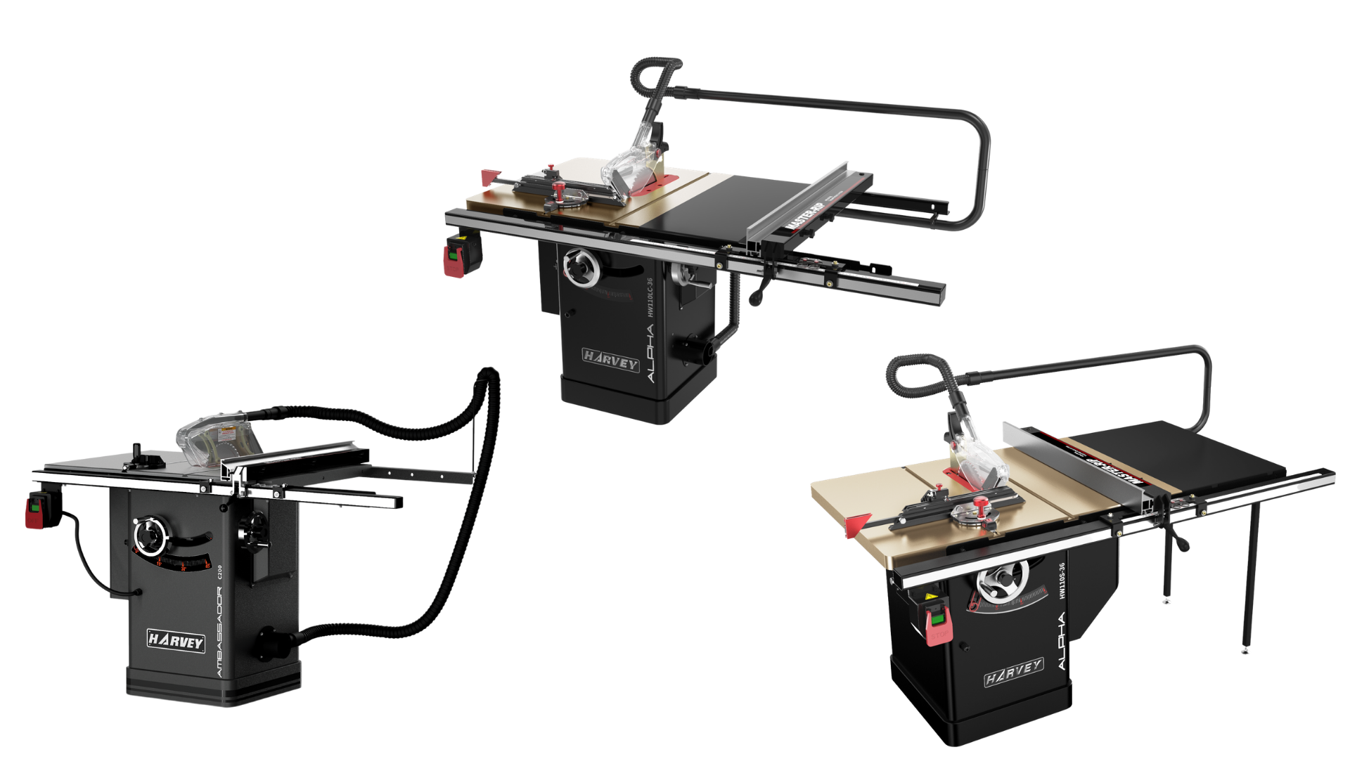 Harvey Table saws vs other table saws | Gregory Machinery